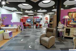 entrada de tienda de muebles NOVEDADES DELICIAS de Zaragoza