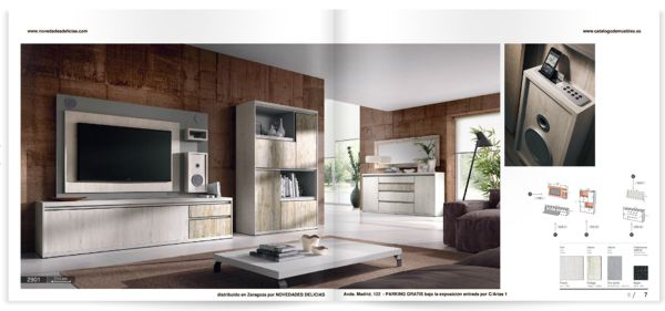 Catálogos de comedores y salones en formato PDF - Catalogo de muebles