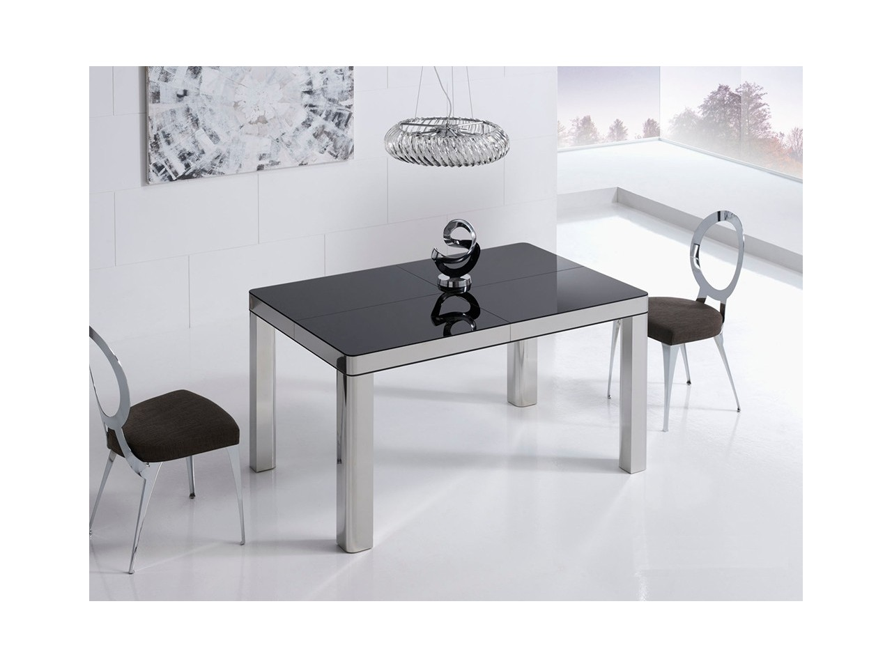 Mesa comedor 140x90 my table b acero for Catalogo mesas comedor